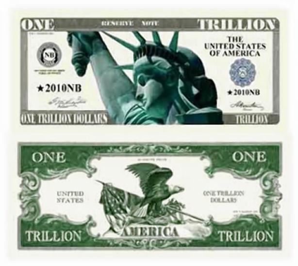 one trillion