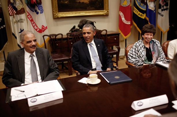 Obama Meets With Leaders Of African-American Civil Rights Groups