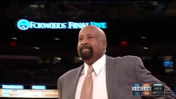 Knicks fire head coach Mike Woodosn
