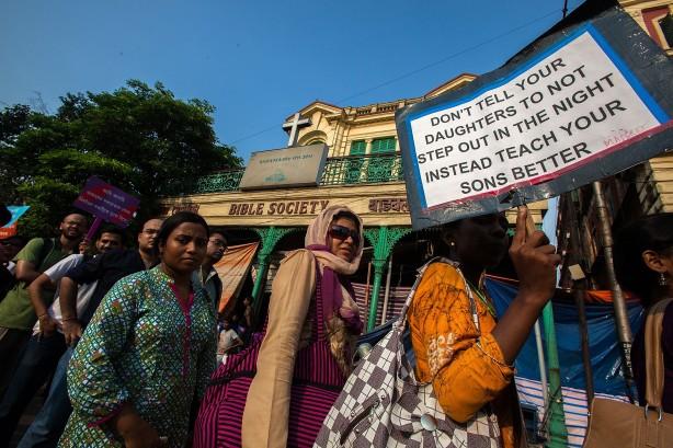 Rape Victim Protest Takes Place in Kolkata